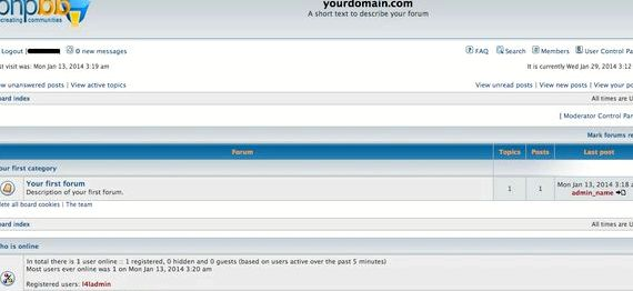 Dodaj link phpBB hosting