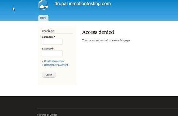drupalのホスティングのAdministratorログ