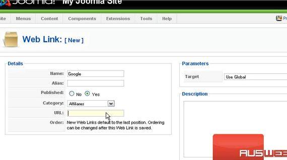 Wszystko web links Hosting Joomla