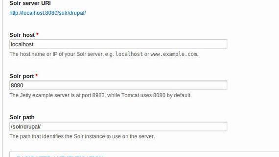 Apache Solr 4 drupal hosting