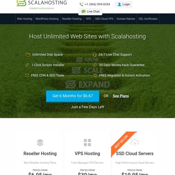 B Smart Hosting joomla Empfang