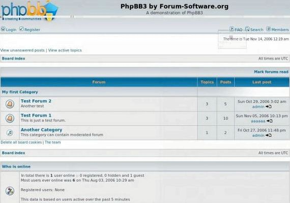 BbPress vs phpBB vs vBulletin di hosting