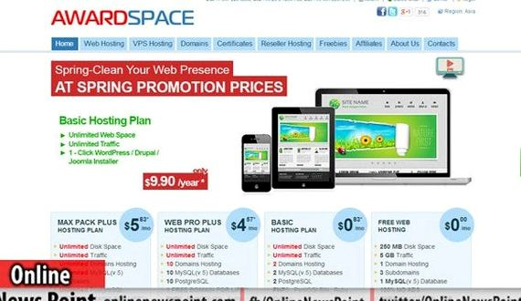 Best free hosting sites joomla hosting