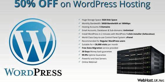 बेस्ट ब्रिटेन होस्टिंग कंपनियों के रूप में एक ही सर्वर की मेजबानी वर्डप्रेस