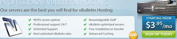 Best vbulletin hosting service