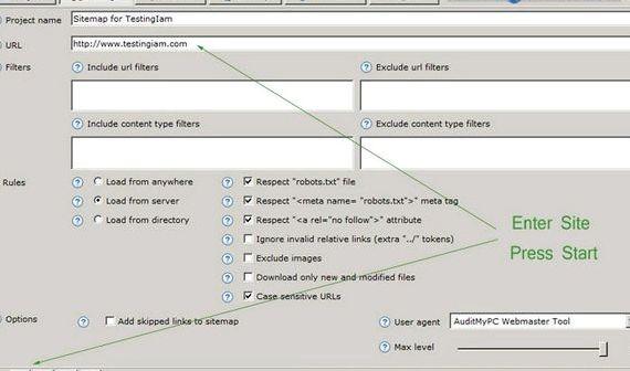 ベストXMLサイトマップジェネレータのjoomlaのホスティング