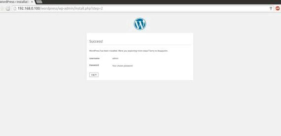 Blank page install.php wordpress hosting