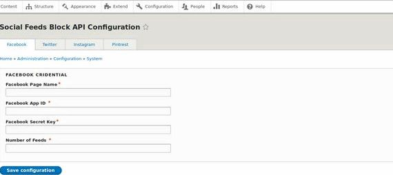 Blok id modul drupal hosting