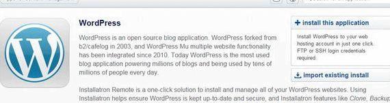 Blog barındırma komut wordpress yardım