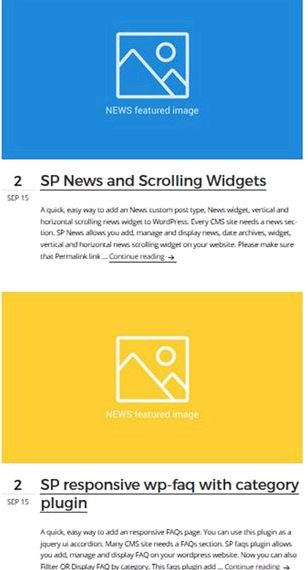 Blog Script d'hébergement widgets wordpress