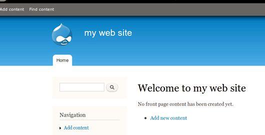 Blogs modul drupal hosting