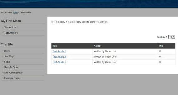 Kategorie lista joomla hosting