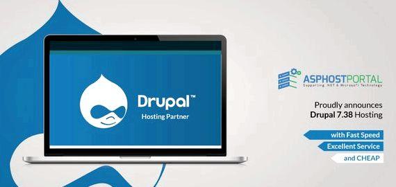 저렴한 드루팔 7을 통해 콘텐츠를 밀어 호스팅