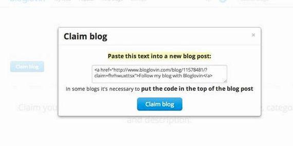 blog revendication bloglovin wordpress hébergement