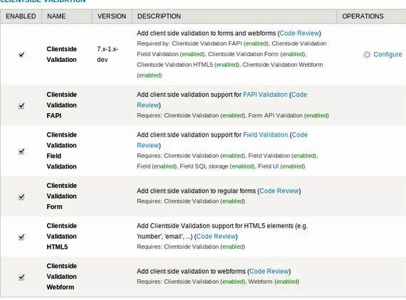 laman web pelanggan pengesahan drupal hosting