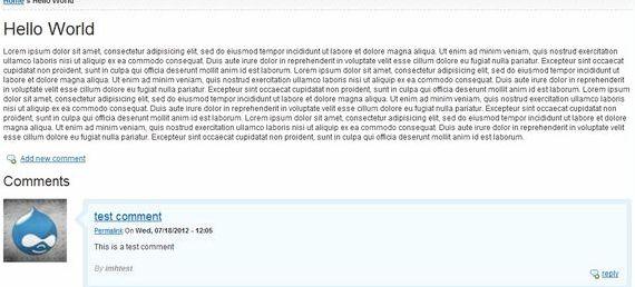 Comment permalink drupal Trung tâm lưu trữ Posted on Thu, 2008