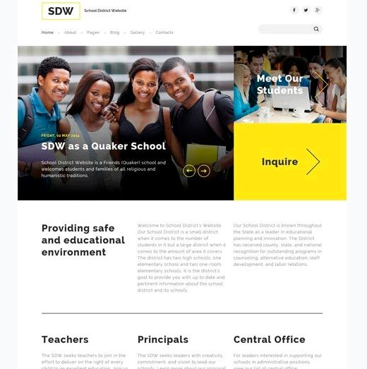 ایجاد یک وب سایت مدرسه با جوملا