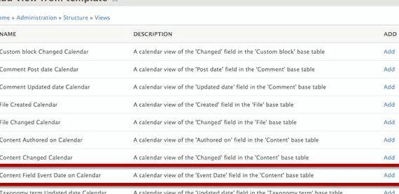 Tworzenie Pole daty hosting Drupal