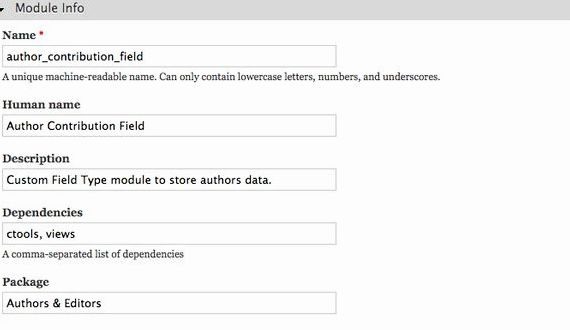 Create field type drupal hosting