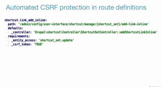 에 브라우저를 호스팅 CSRF 보호 드루팔