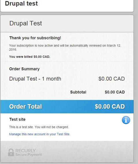 Strona niestandardowy moduł Drupal hosting