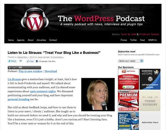 Dan le podcast d'hébergement benjoin wordpress codage Creative Créatif