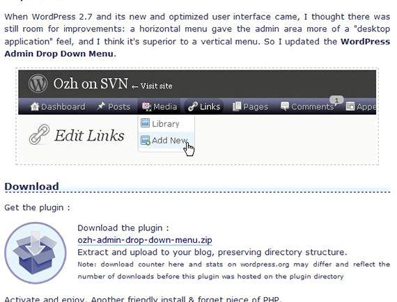 Scendete pannello di wordpress pulsante di hosting, che lancerà