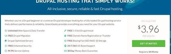 Drupal jednym kliknięciem zainstalować hostingu gratis