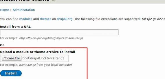 Drupal jednym kliknięciem zainstalować hostinger hosting