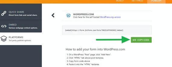 Osadzić wordpress blog do witryny WWW w artykułach wokół