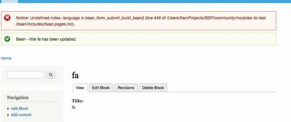 halaman kosong modul drupal hosting