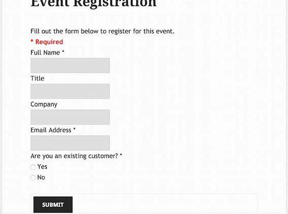 ホスティングイベント登録ページのワードプレス