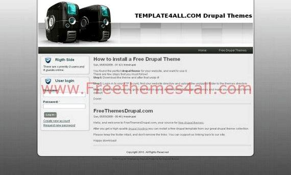 Percuma drupal web hosting