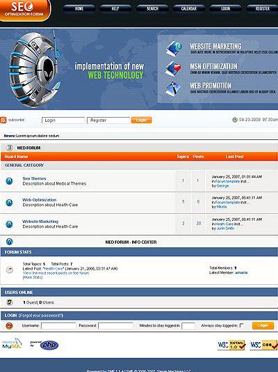 forum hosting percuma Phpbb 3 seo