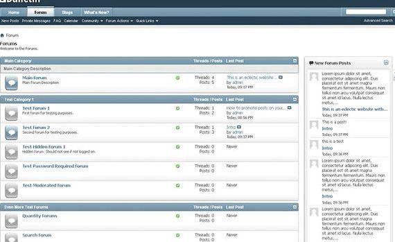 forum hosting percuma vBulletin hosting
