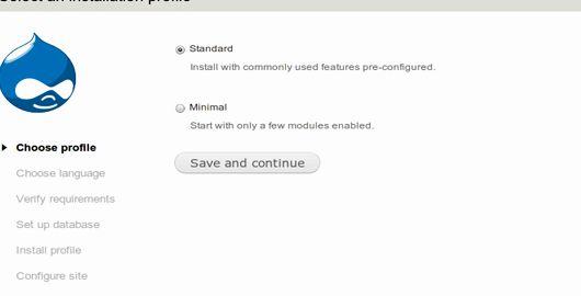 무료 호스팅 PHP는 MySQL의 드루팔 모듈