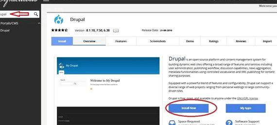 Percuma hosting php mysql tema drupal