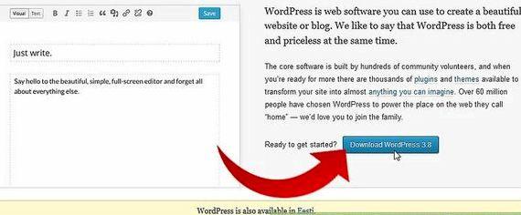 WPのWordPressのインストールと無料ホスティング