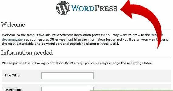hébergement gratuit avec l'installateur wordpress