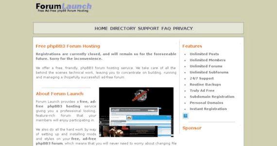 fórum phpbb3 livre ad-free hospedagem