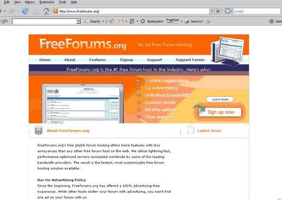 میزبانی وب رایگان انجمن phpBB و
