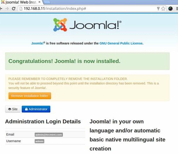 Free website hosting php mysql joomla extension