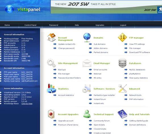 laman web percuma hosting dengan Phpbb 2