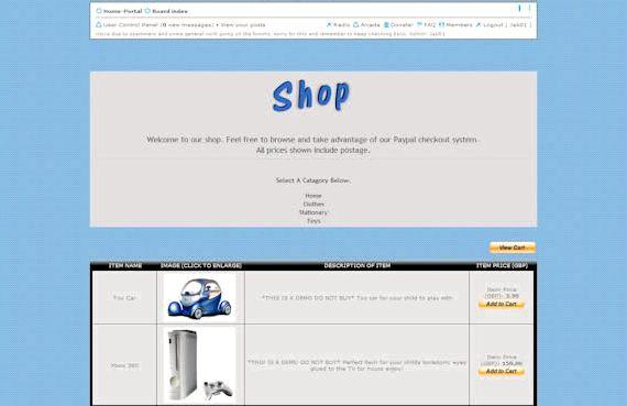 नि: शुल्क वेबसाइट phpBB PS3 के साथ की मेजबानी