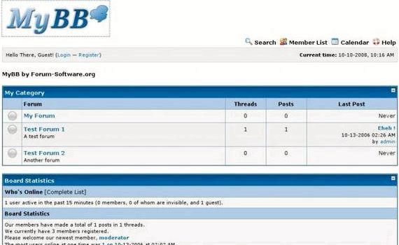 FUDforum vs phpbb hospedagem