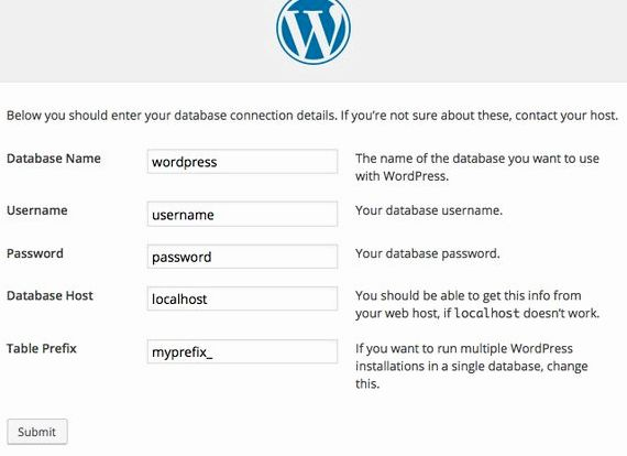 wordpress variable globale hébergement php