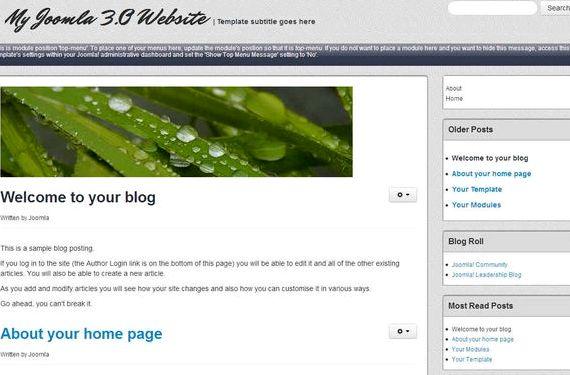 میزبانی وب رایگان جوملا 3.0