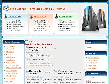 Hosting joomla website free