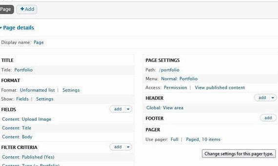 Số món hàng mỗi trang drupal lưu trữ