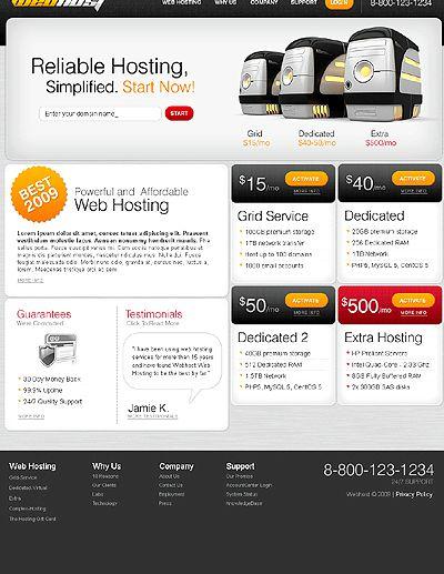 Joomla template hosting percuma